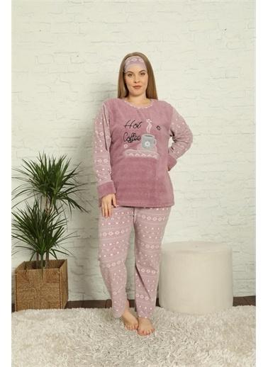 Akbeniz Pijama Takım Renkli